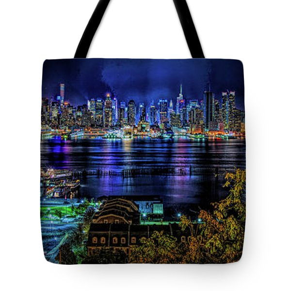 Tote Bag featuring the photograph Night Beauty by Theodore Jones
