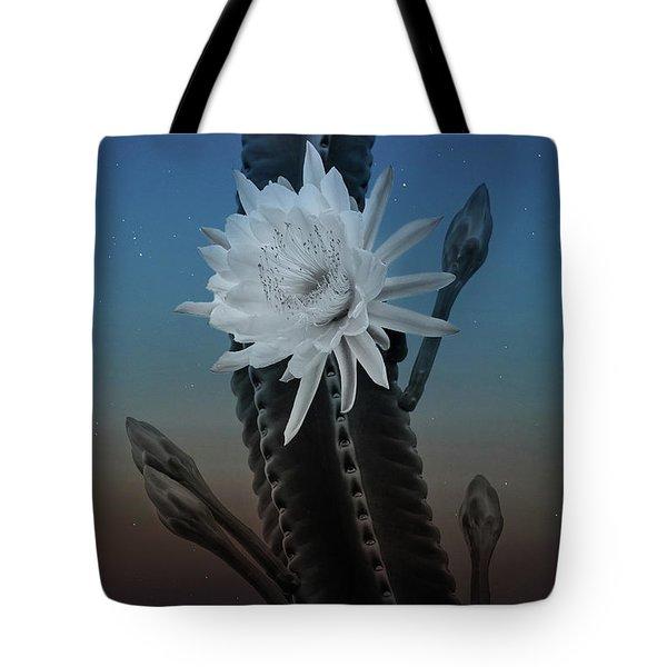 Night Bloom Tote Bag
