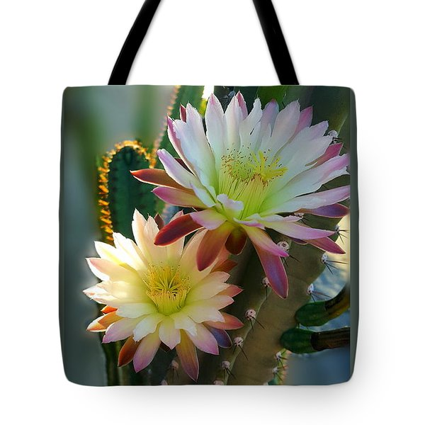 Tote Bag featuring the photograph Night-blooming Cereus 4 by Marilyn Smith