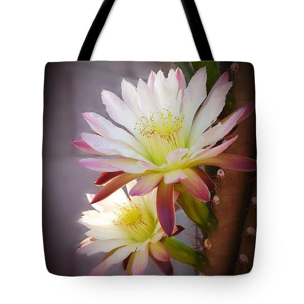 Night Blooming Cereus Tote Bag