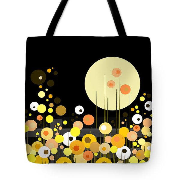 Night Blooming Flowers Tote Bag