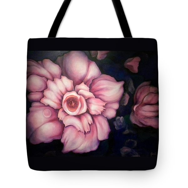 Night Blooms Tote Bag
