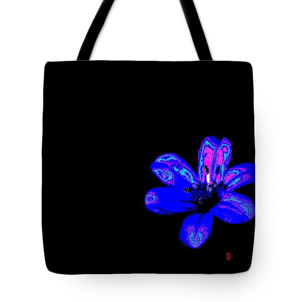 Night Blue Tote Bag