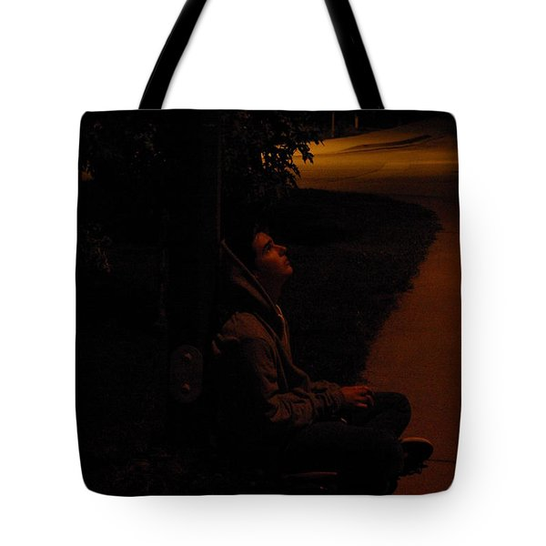 Night Boy Tote Bag