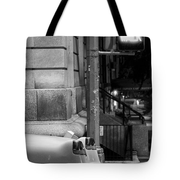 Tote Bag featuring the photograph Night Caddy by Dave Beckerman
