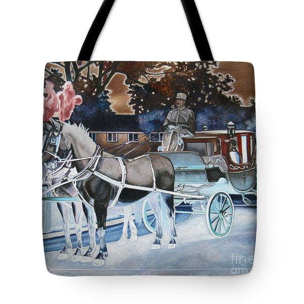 Night Coach Tote Bag