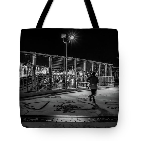 Night Commute  Tote Bag by Jeffrey Friedkin
