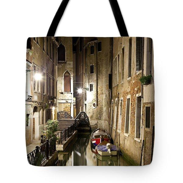 Night Da Mario Tote Bag by Marco Missiaja