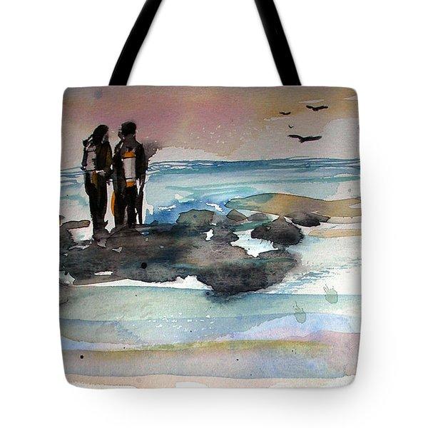 Night Dive Tote Bag