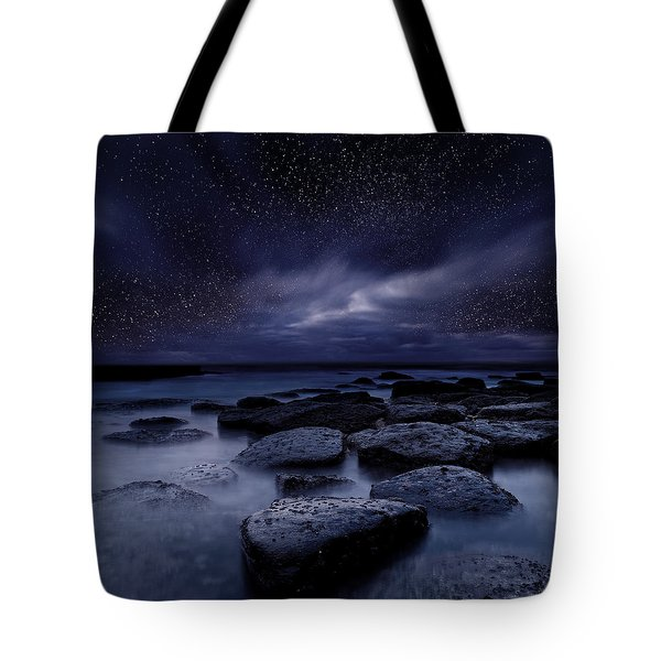 Night Enigma Tote Bag