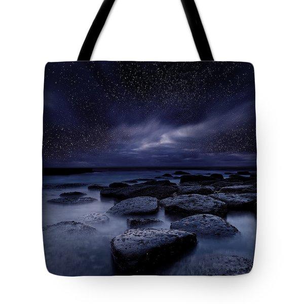 Night Enigma Tote Bag