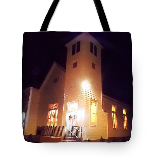 Night Exterior Tote Bag