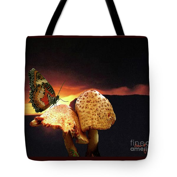 Tote Bag featuring the photograph Night Fall by Donna Brown