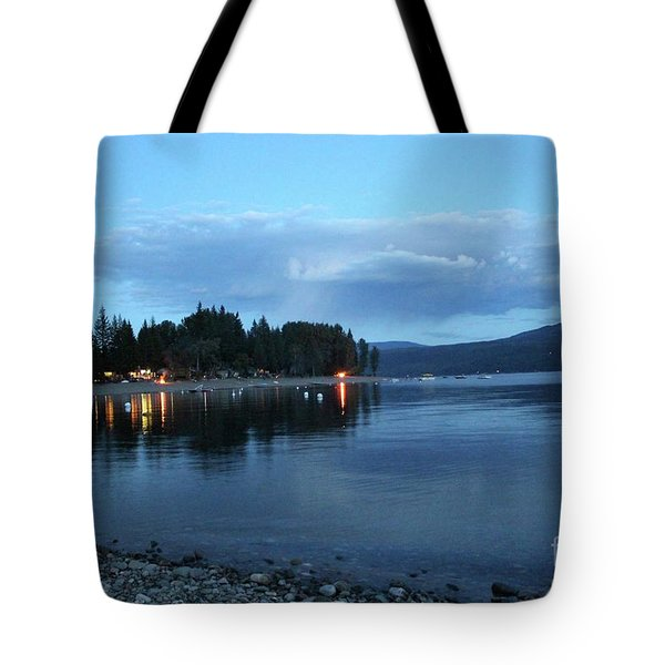 Tote Bag featuring the photograph Night Fall by Victor K