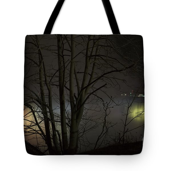 Tote Bag featuring the photograph Night Falls by Judy Wolinsky