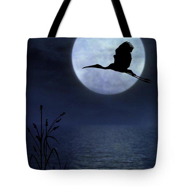 Night Flight Tote Bag
