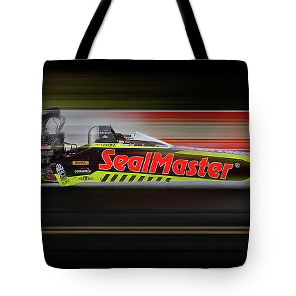 Tote Bag featuring the digital art Night Flight by Peter Chilelli