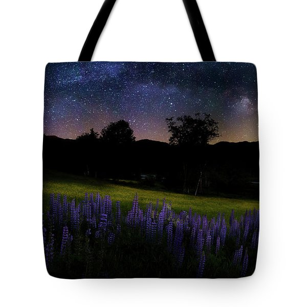 Tote Bag featuring the photograph Night Flowers by Bill Wakeley