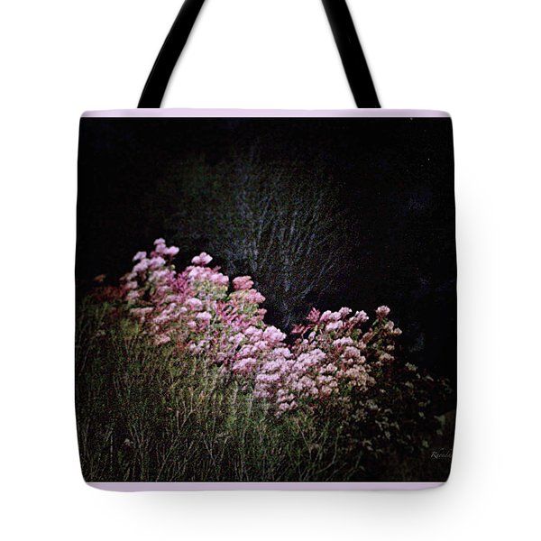 Tote Bag featuring the photograph Night Flowers by YoMamaBird Rhonda