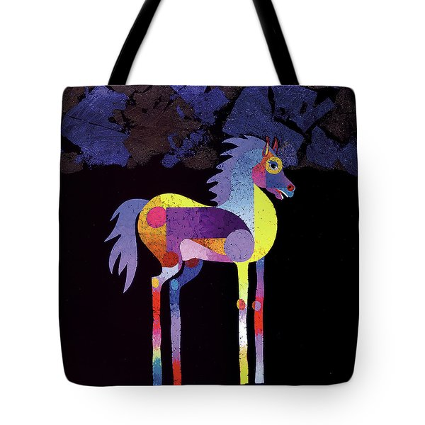 Night Foal Tote Bag
