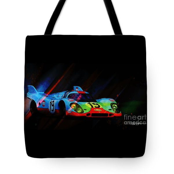 Night Games Tote Bag