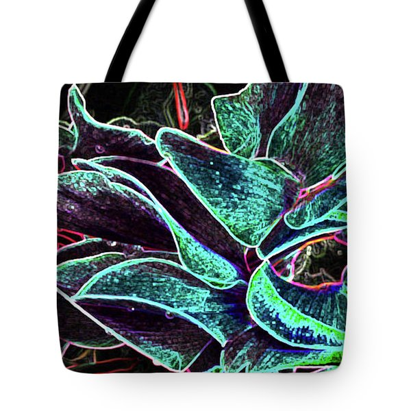Night Glamour Tote Bag by Nareeta Martin