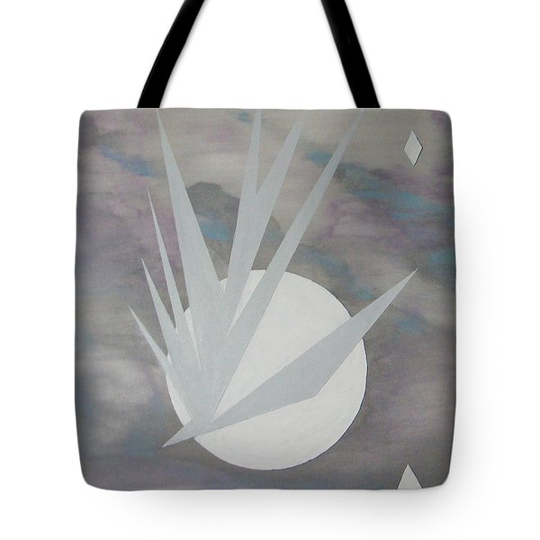 Tote Bag featuring the painting Night Hawke II by J R Seymour