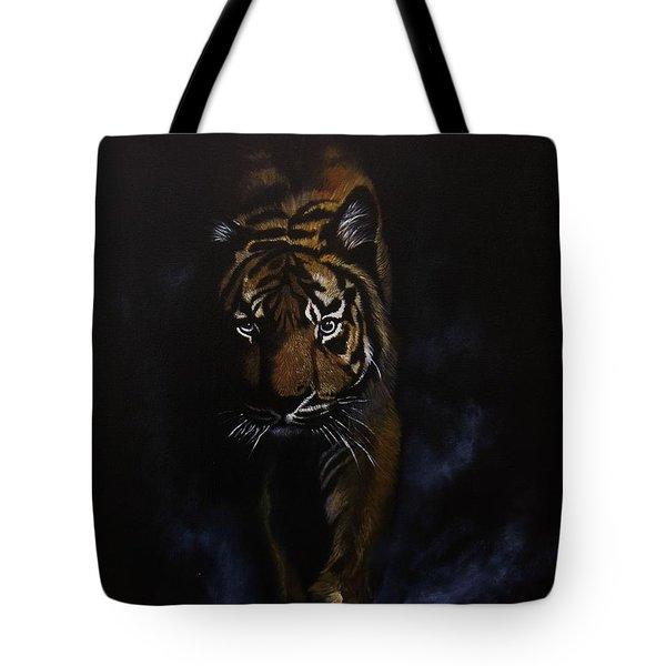 Night Hunter Tote Bag