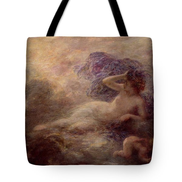 Night Tote Bag by Ignace Henri Jean Fantin Latour