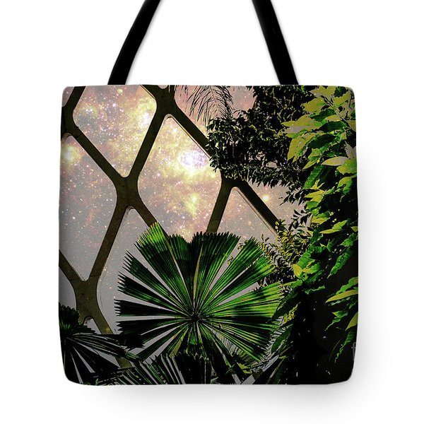 Night In The Arboretum Tote Bag