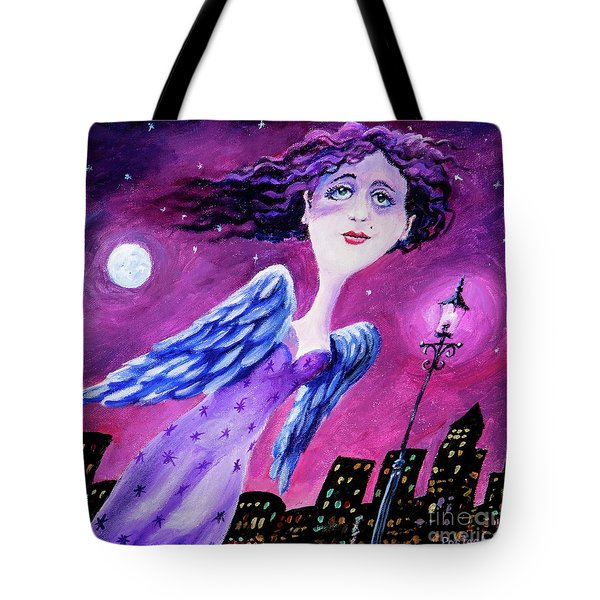 Night In The City Tote Bag by Igor Postash