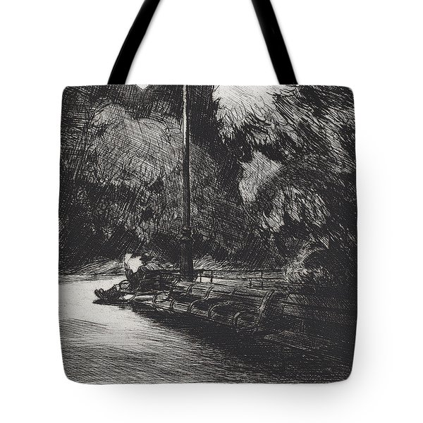 Night In The Park Tote Bag