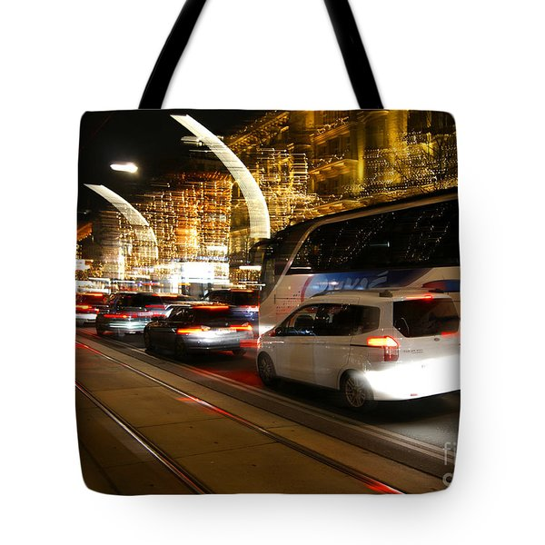 Night In Vienna City Tote Bag