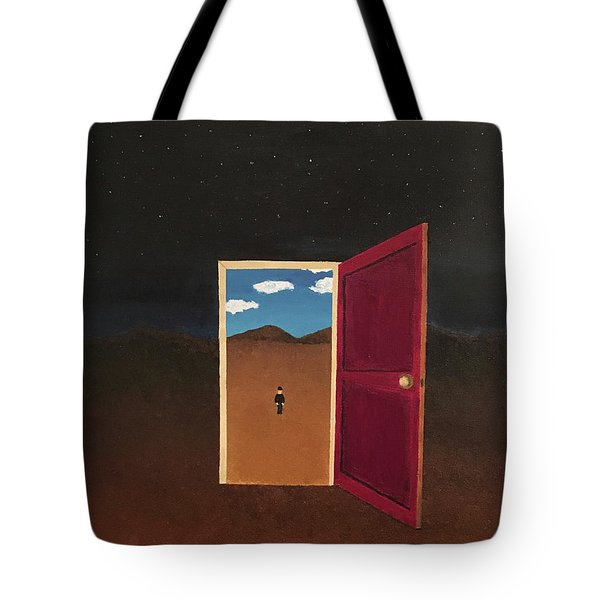 Night Into Day Tote Bag