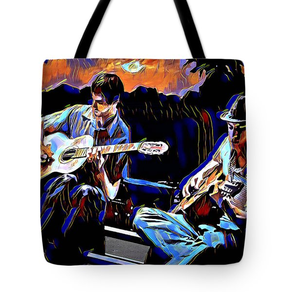 Night Jammin Tote Bag