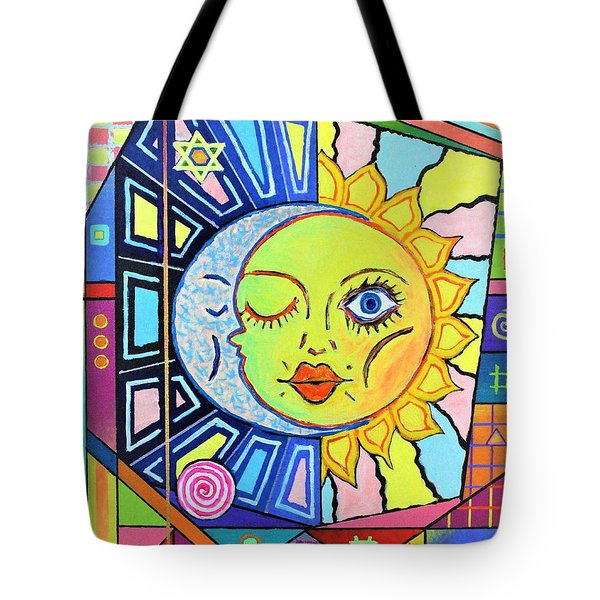 Night Kisses Daylight Tote Bag