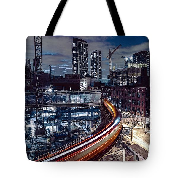 Night L Tote Bag