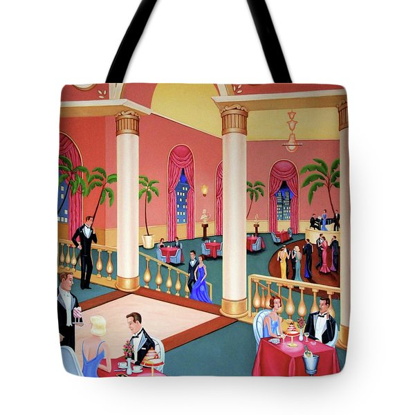 Night Life Tote Bag by Tracy Dennison