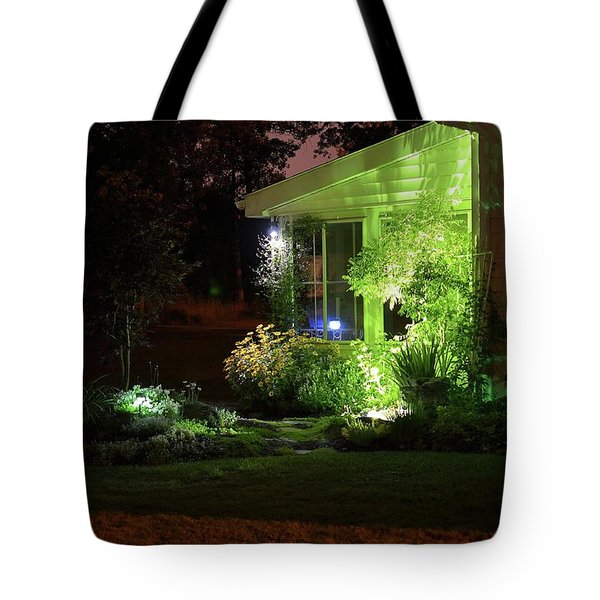 Night Light Garden 2  Tote Bag