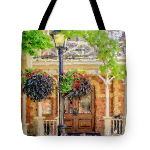 Tote Bag featuring the photograph Night Light by Mary Timman
