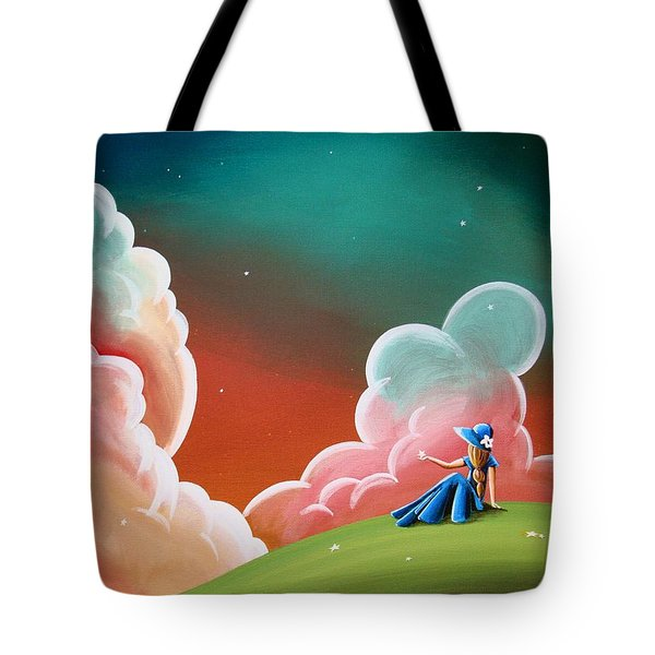 Night Lights Tote Bag by Cindy Thornton