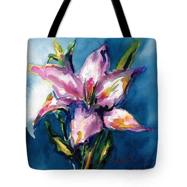 Night Lily Tote Bag