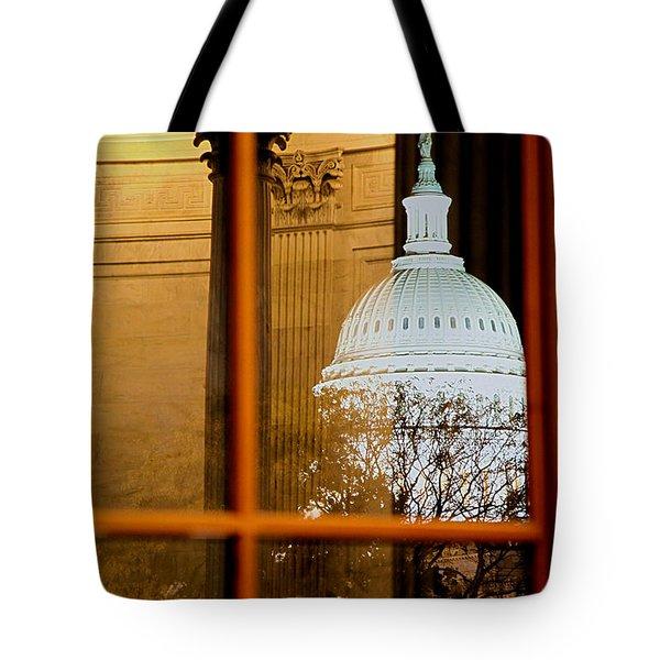 Night Tote Bag by Mitch Cat