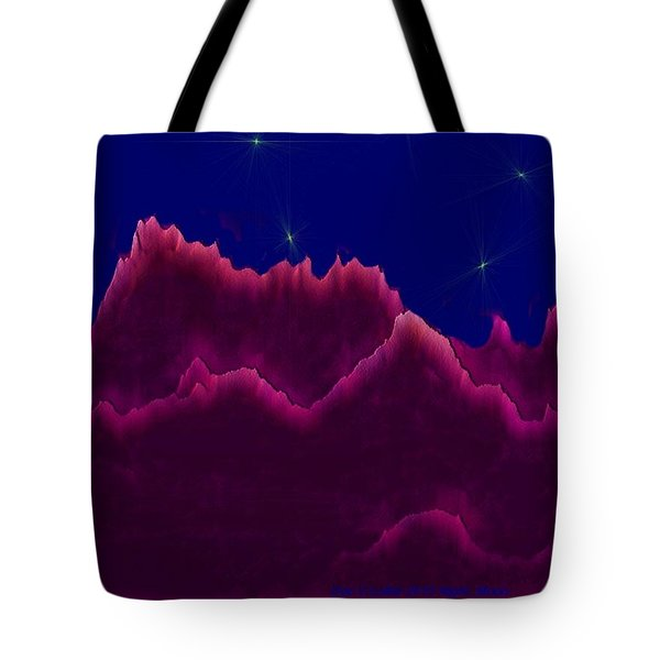 Night. Moon Tote Bag