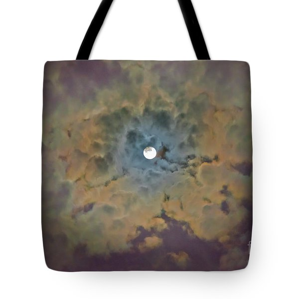 Night Moon Tote Bag
