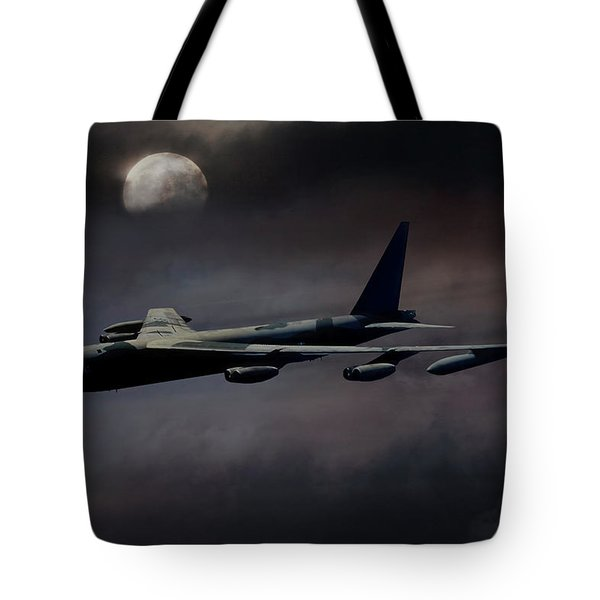 Night Moves B-52 Tote Bag