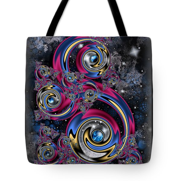 Night Moves Tote Bag by Kim Redd
