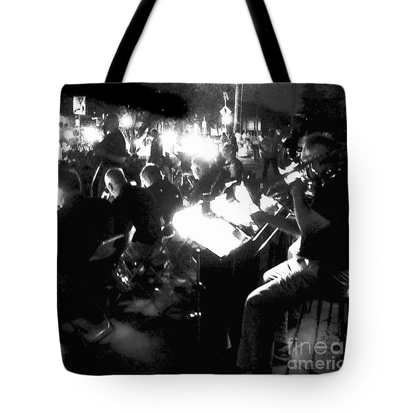Night Music Tote Bag by Felipe Adan Lerma