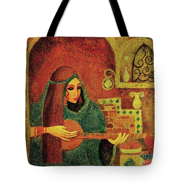 Night Music 3 Tote Bag