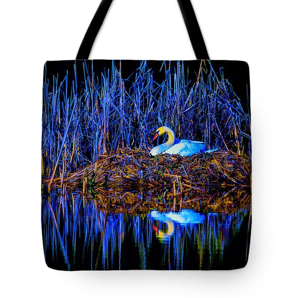 Night Nest Tote Bag